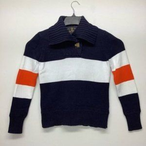 Ralph Lauren Pullover Sweater Gold clasp Size M